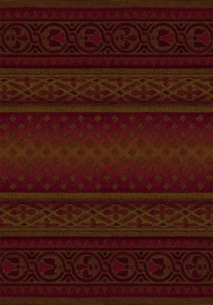 Brick (8500)  Moroccan Area Rug