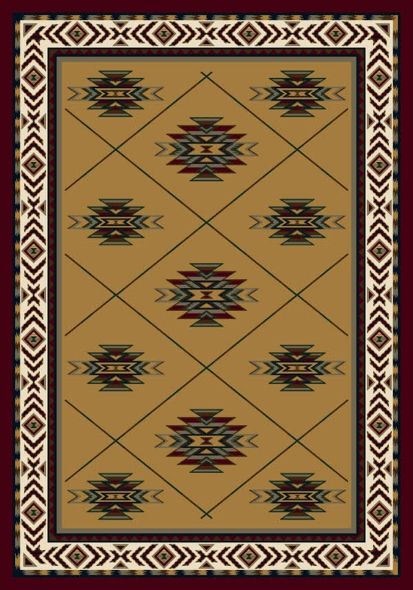 Garnet (10000)  Southwestern / Lodge Area Rug