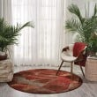 Product Image of Brown Contemporary / Modern Area Rug