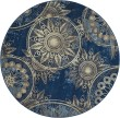 Product Image of Denim Mandala Area Rug