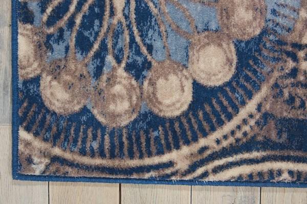 Denim Mandala Area Rug