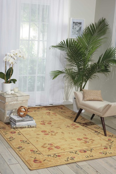 Nourison Somerset St 05 Rugs Floral Area Rugs Rugs Direct