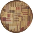 Product Image of Beige, Rust Contemporary / Modern Area Rug