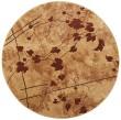 Product Image of Latte Floral / Botanical Area Rug