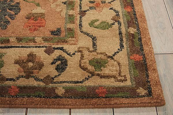 Copper Traditional / Oriental Area Rug