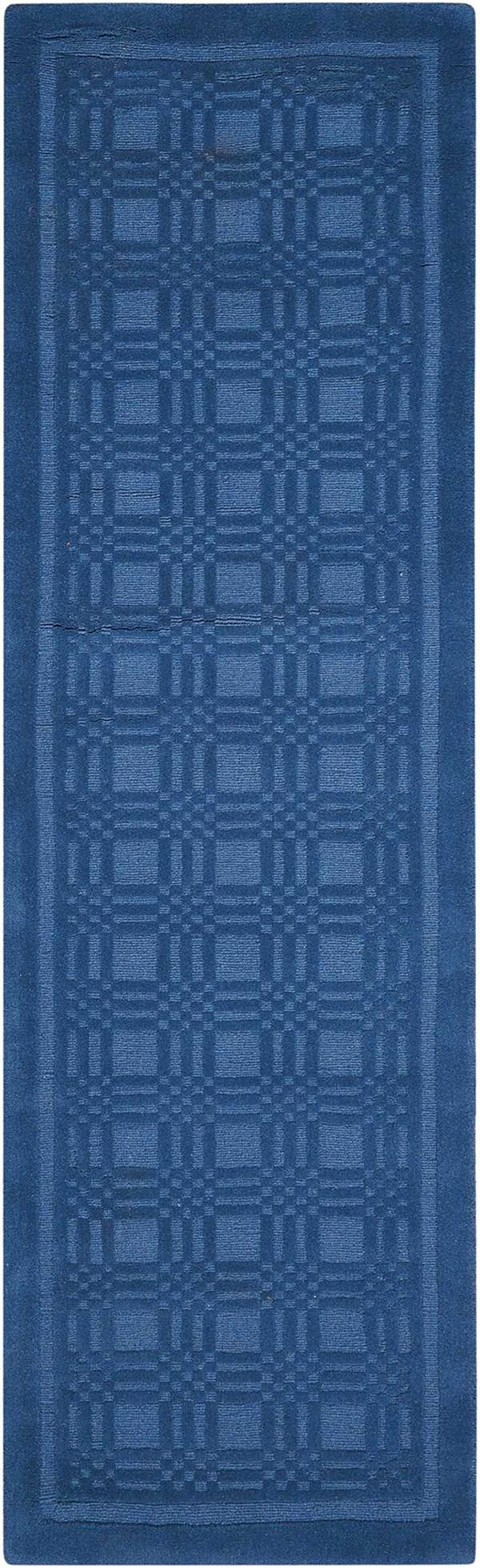 Blue Transitional Area Rug