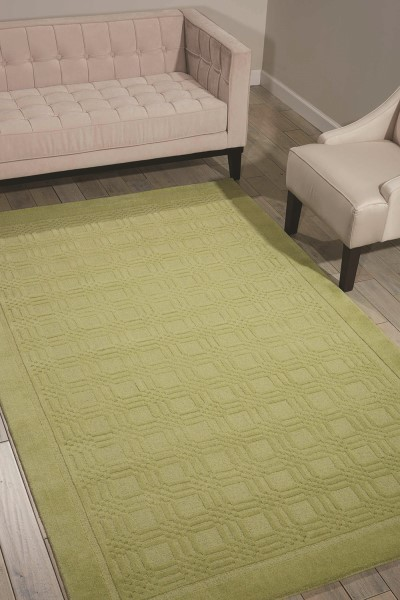 Lime Transitional Area Rug