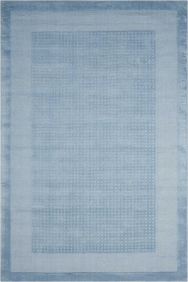 Blue Casual Area Rug