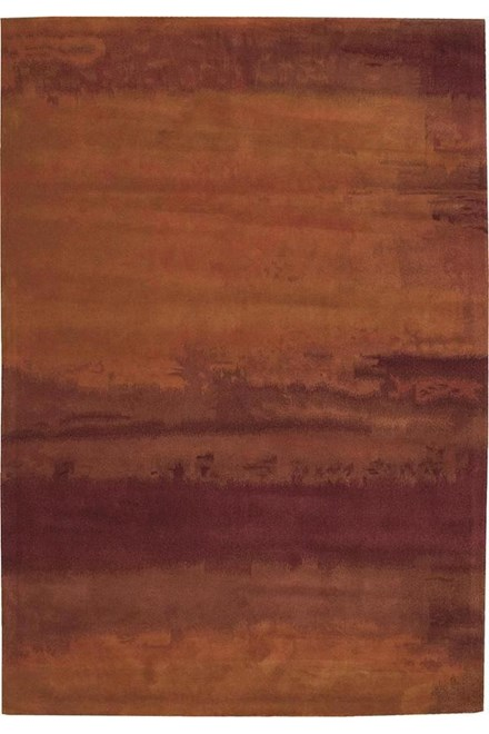 Rust (SW-01) Transitional Area Rug