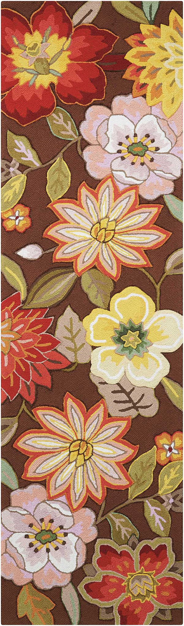 Nourison Fantasy Fa 18 Rugs Floral Area Rugs Rugs Direct