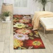 Product Image of Chocolate Floral / Botanical Area Rug