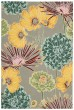 Product Image of Floral / Botanical Grey Area Rug