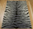 Product Image of Black, Grey Contemporary / Modern Area Rug