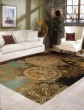 Product Image of Brown, Gold Mandala Area Rug