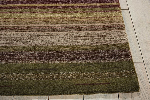 Forest Striped Area Rug