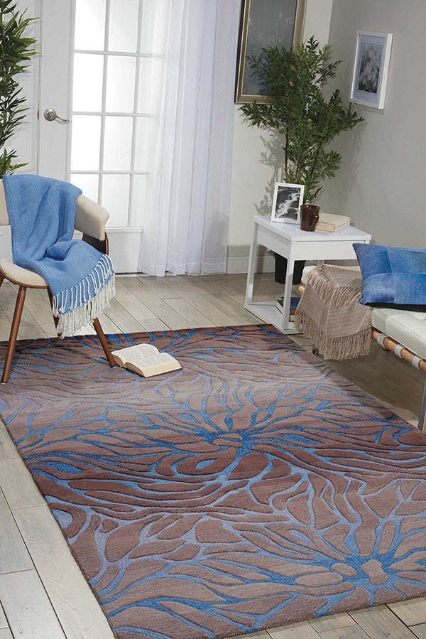 Ocean Sand Contemporary / Modern Area Rug