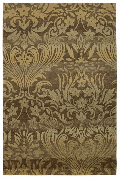 Latte Traditional / Oriental Area Rug