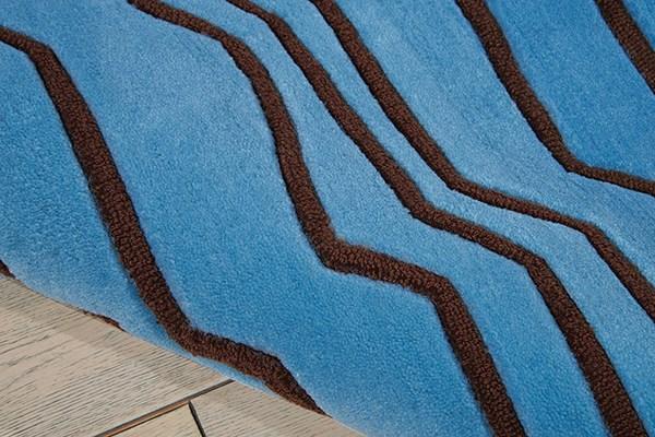 Azure Contemporary / Modern Area Rug