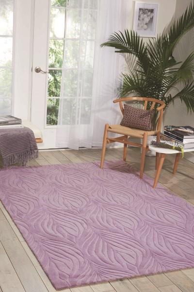 Lavender Floral / Botanical Area Rug