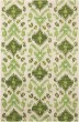 Product Image of Ikat Ivory, Green Area Rug