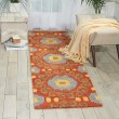 Product Image of Rust Moroccan Area Rug