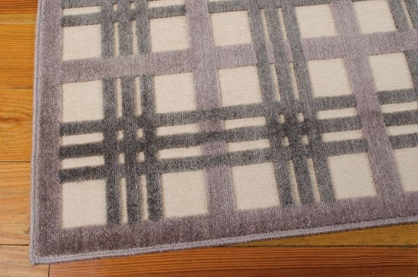 Ivory, Taupe Transitional Area Rug