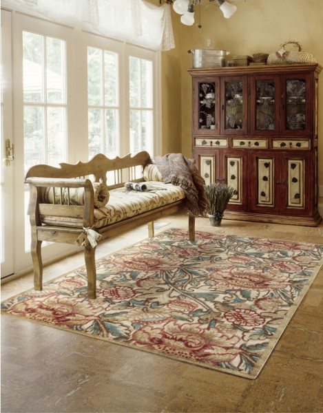 Nourison Graphic Illusions Gil 10 Rugs Floral Area Rugs