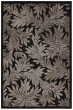 Product Image of Floral / Botanical Black Area Rug