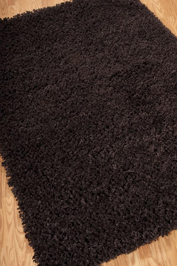 Espresso Solid Area Rug