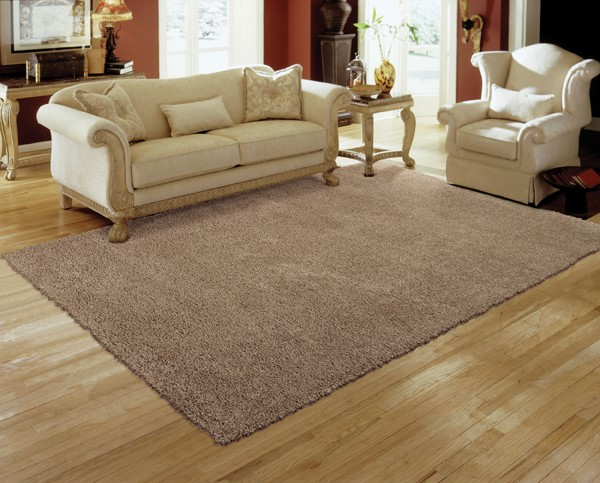 Oyster Solid Area Rug