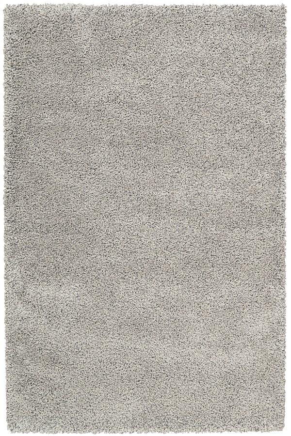 Light Grey Solid Area Rug