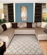 Product Image of Cream Moroccan Area Rug