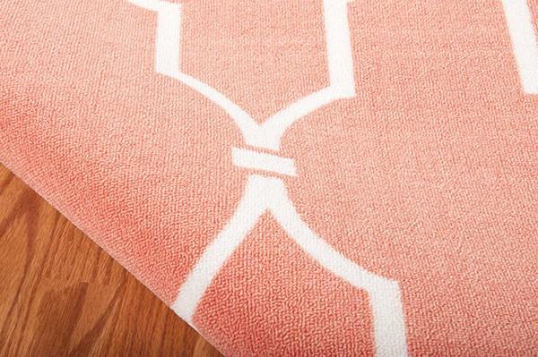 Orange Outdoor / Indoor Area Rug