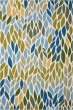 Product Image of Outdoor / Indoor Grey, Dark Blue, Sky Blue, Olive Green Area Rug