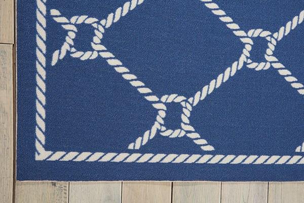 Navy Outdoor / Indoor Area Rug