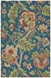 Product Image of Floral / Botanical Sapphire Area Rug