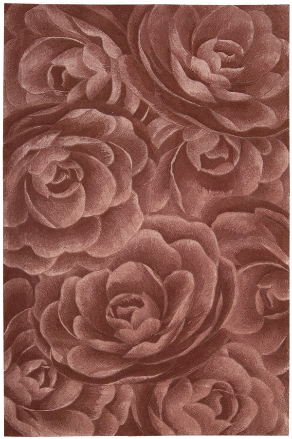 Blush Floral / Botanical Area Rug