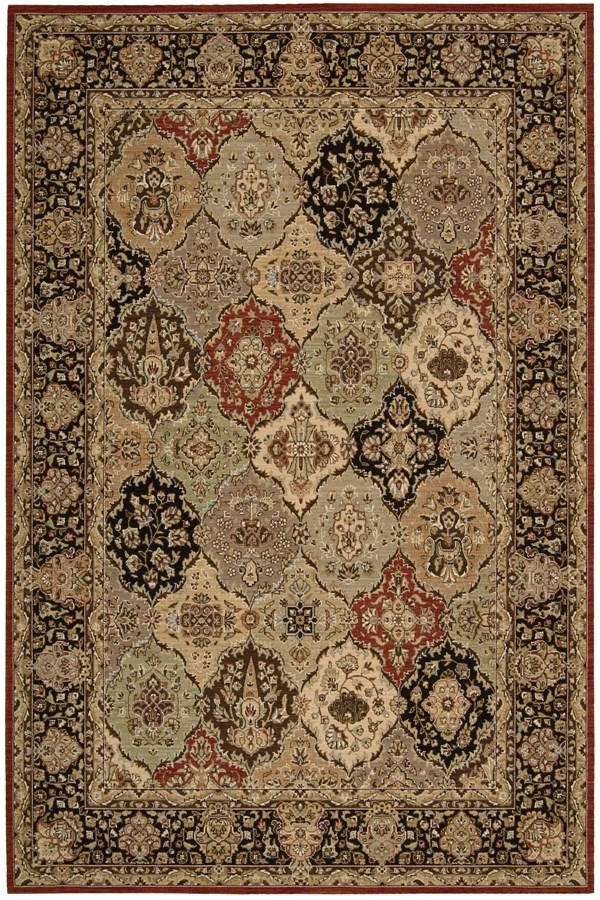 Kathy Ireland By Nourison Lumiere Persian Tapestry Rugs
