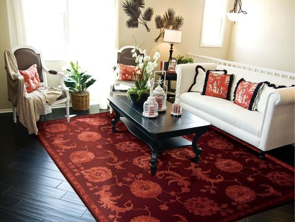 Garnet Traditional / Oriental Area Rug