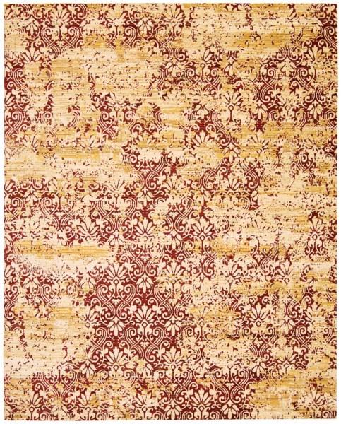 Gold, Garnet Traditional / Oriental Area Rug