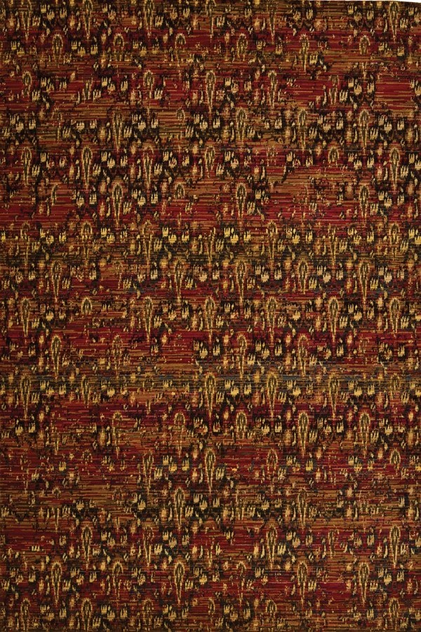 Flame Transitional Area Rug