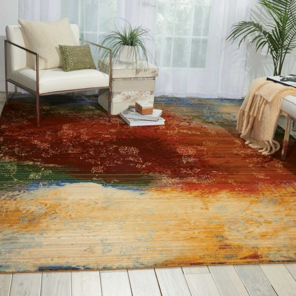 Autumn Contemporary / Modern Area Rug