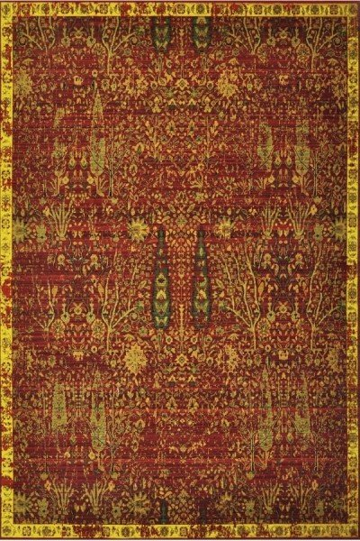 Scarlet Traditional / Oriental Area Rug