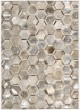 Product Image of Contemporary / Modern Silver Area Rug