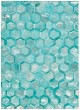 Product Image of Contemporary / Modern Turquoise Area Rug
