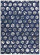 Product Image of Contemporary / Modern Cobalt Area Rug