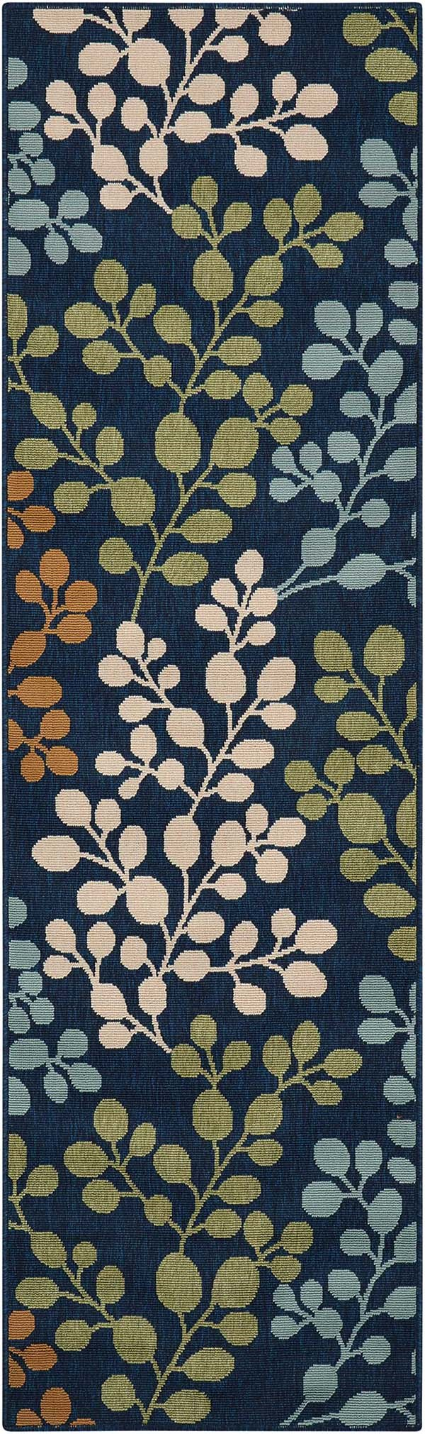 Navy Outdoor / Indoor Area Rug