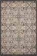 Product Image of Outdoor / Indoor Ivory, Charcoal Area Rug