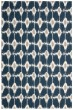 Product Image of Navy Ikat Area Rug