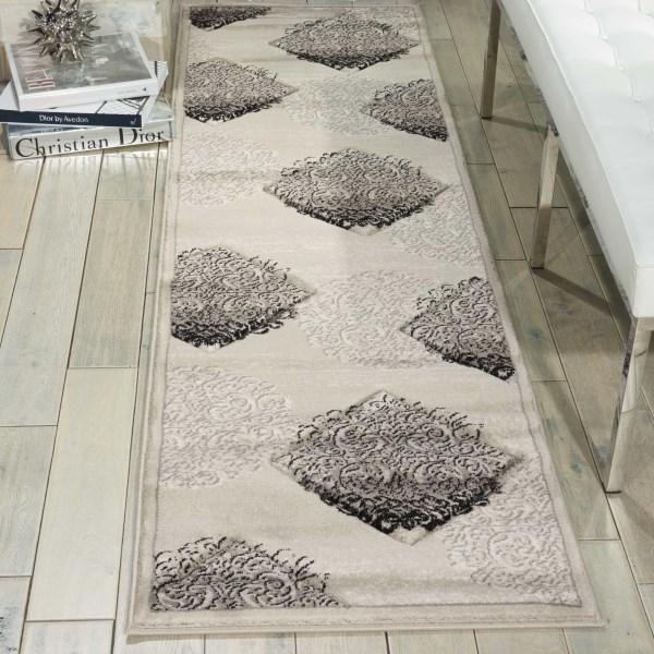 Ash Traditional / Oriental Area Rug